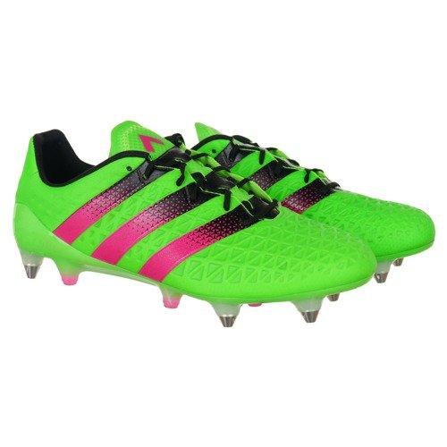 na wyprzedaży oryginalne buty wyprzedaż hurtowa Buty piłkarskie Adidas ACE 16.1 SG męskie korki lanki wkręty mixy