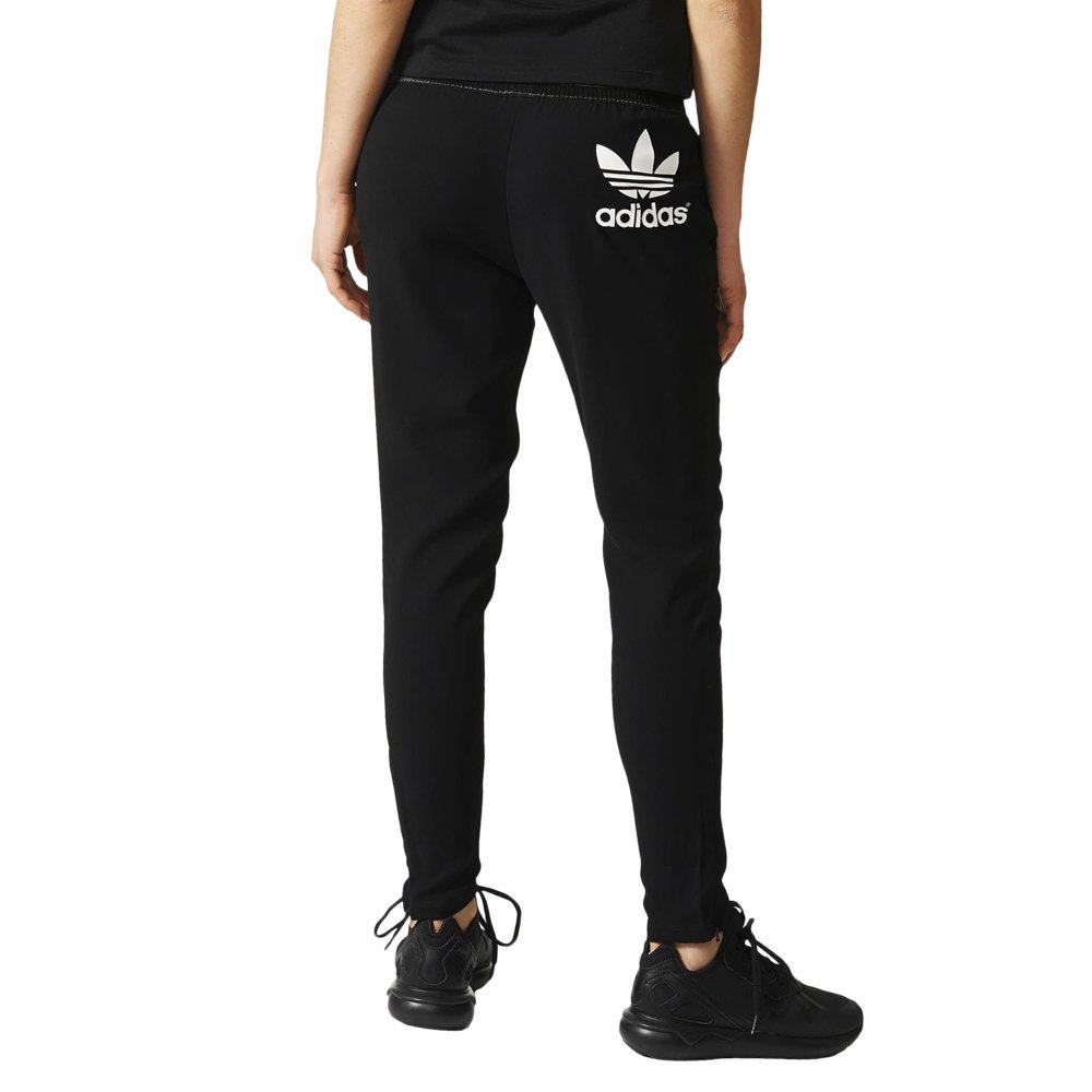 spodnie dresowe damskie adidas ze ściągaczami